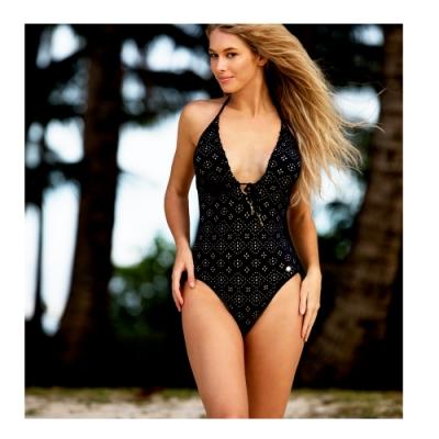 澳洲Sunseeker泳裝feminine detail系列連身式泳衣小-大尺碼1190122BLA