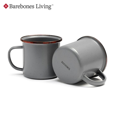 【Barebones】琺瑯陶瓷杯組 CKW-356【14oz|兩入】