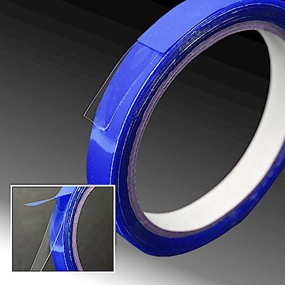 【Incare】超薄0.5MM萬用透明雙面超黏矽膠帶(中號/6入組)