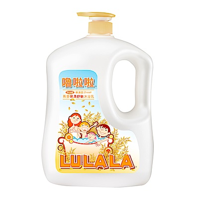 嚕啦啦 燕麥保濕舒敏沐浴乳-1850g