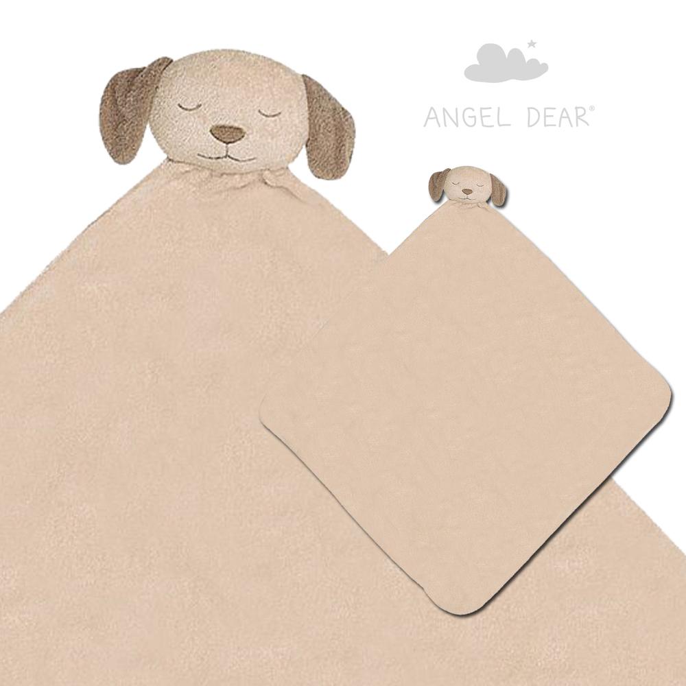 美國 Angel Dear 大頭動物嬰兒毛毯 (小狗)