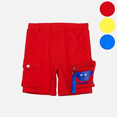 WHY AND 1/2 口袋棉質萊卡短褲 11Y~14Y以上 多色可選