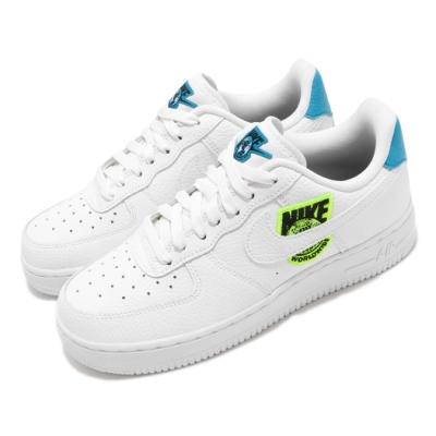 Nike 休閒鞋 Air Force 1 07 運動 女鞋 基本款 簡約 舒適 AF1 穿搭 球鞋 白 藍 CT1414101
