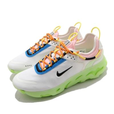Nike 休閒鞋 React Live 運動 男女鞋 輕量 透氣 舒適 避震 情侶穿搭 球鞋 白 綠 CV1772100