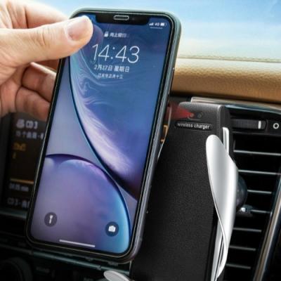 魔夾S5車載手機支架汽車用無線充電器車載智能自動感應快充帶線