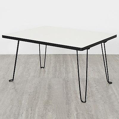 Homelike 塔克折疊和室桌-56x43x31cm