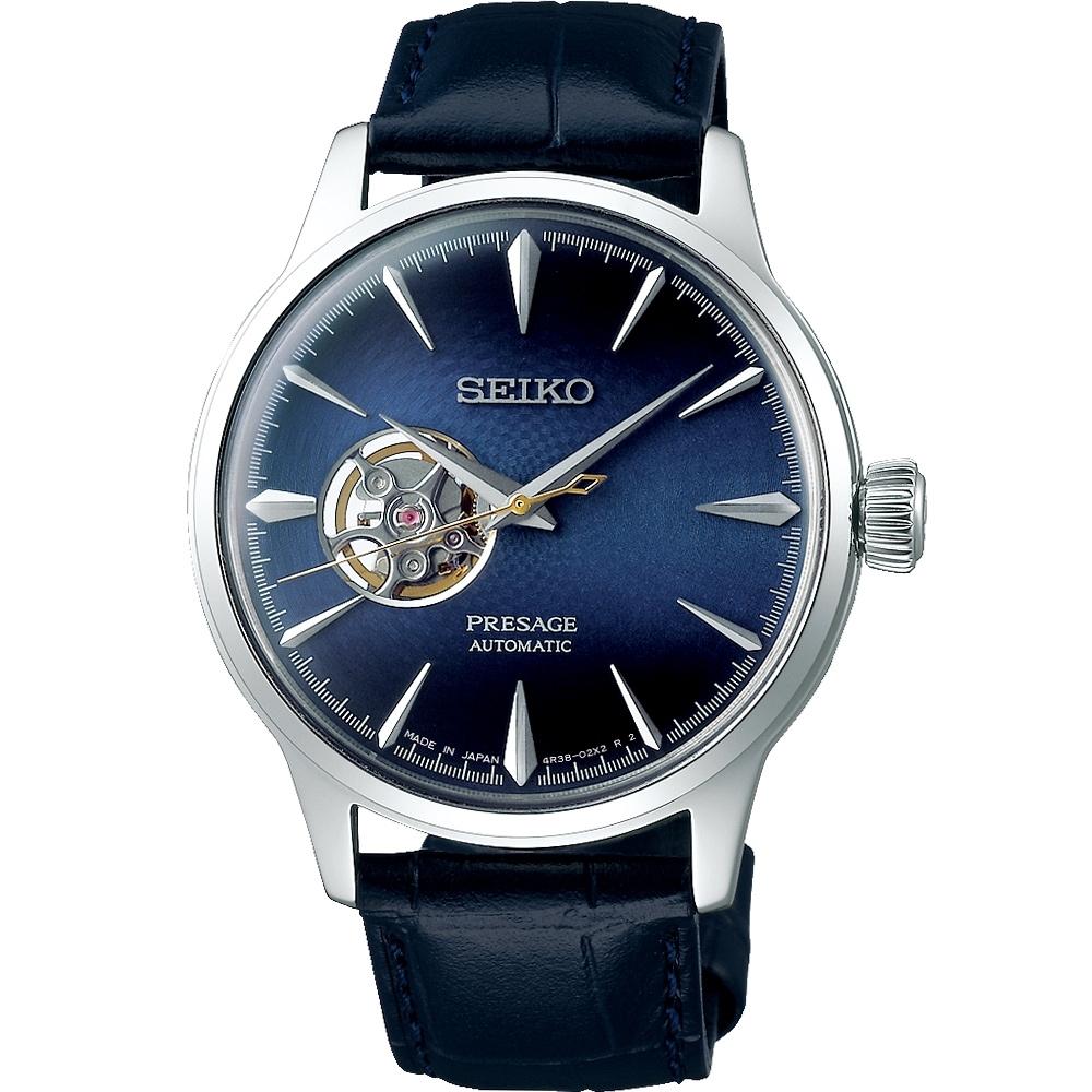 SEIKO Presage Cocktail 調酒師藍月機械錶(SSA405J1)40mm