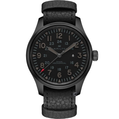 Hamilton 漢米爾頓Khaki Field 大三針手上鍊機械錶(H69809730)50mm