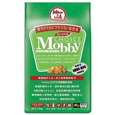 莫比Mobby 雞肉&米 小型成犬專業配方 3KG 兩包組