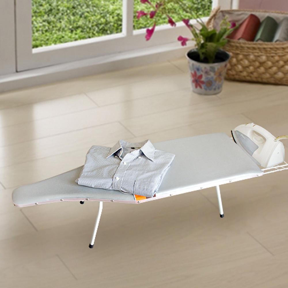 生活king 偉琦桌上型/地板型燙衣板(一體成型)