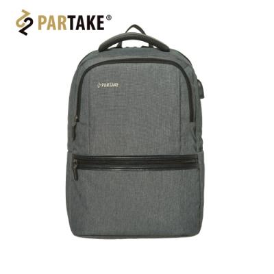 PARTAKE - C6-都會時尚電腦包-灰 PT17-C6-85GY