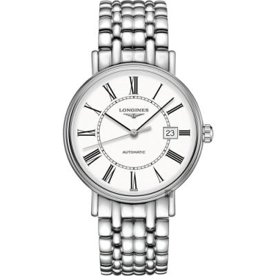 LONGINES 浪琴 Presence 羅馬機械錶-40mm L49224116