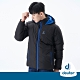 【deuter德國】男款超級保暖羽絨連帽外套DE-G1505M黑/防風/防潑水/保溫蓄熱/零碼出清 product thumbnail 1