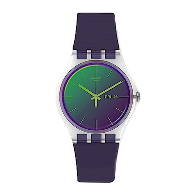 Swatch  Transformation系列 POLAPURPLE極地粉紫