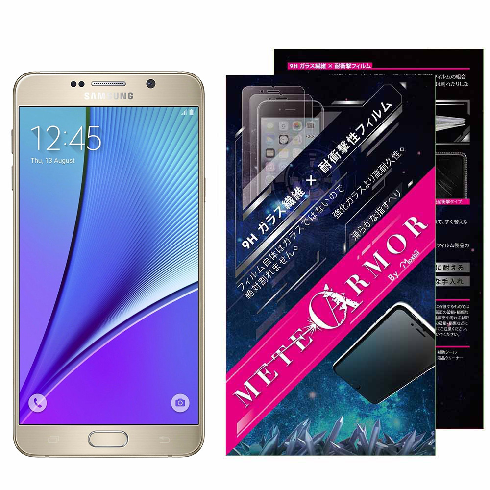 Moxbii Samsung Galaxy Note 5 太空盾 螢幕保護貼(非滿版) @ Y!購物