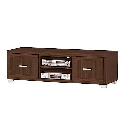 綠活居 比娜4.9尺電視櫃/視聽櫃(二色)-148.5x52.5x46.5cm免組