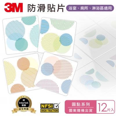 (12片入) 3M 防滑貼片-圓點
