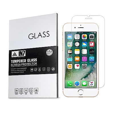 IN7 APPLE iPhone 6/6s Plus高透光2.5D半版鋼化玻璃貼