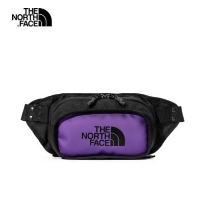 【經典ICON】The North Face北面男女款紫色休閒腰包|3KZXS96