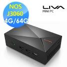 ECS 精英電腦 LIVA XE 雙核迷你電腦(J3060/4G/64G)