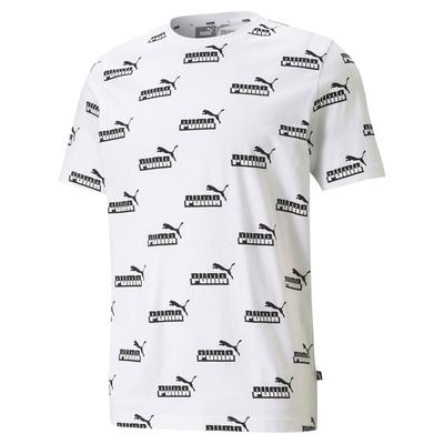 【PUMA官方旗艦】基本系列Amplified印花短袖T恤 男性 58578902