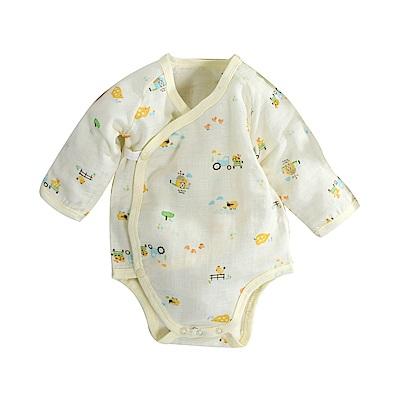 印花薄款純棉護手連身衣 b0171 魔法Baby