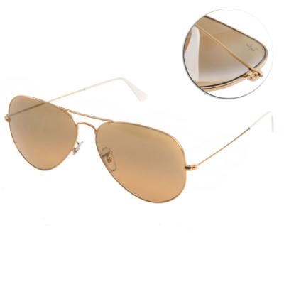 RAY BAN太陽眼鏡 經典飛官款/水銀棕 # RB3025 0013K -58mm