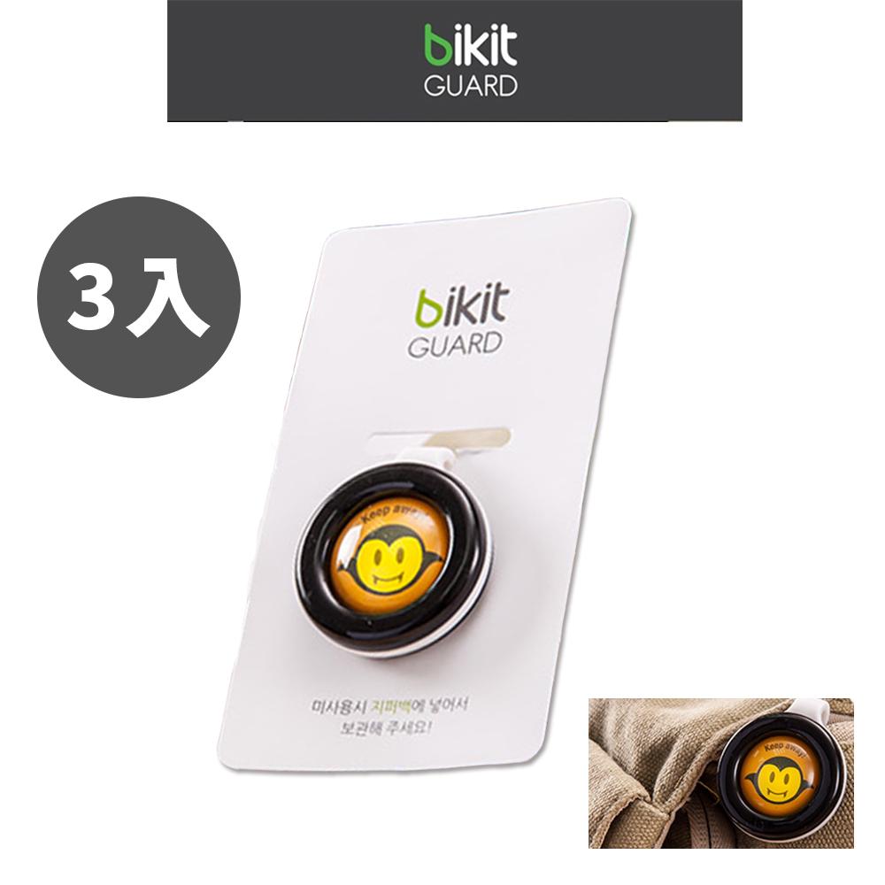 【韓國Bikit Guard】防蚊扣3入組