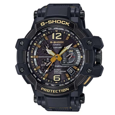 G-SHOCK世界首款搭載高性能復古獨創GPS電波錶(GPW-1000VFC-1A)-56mm