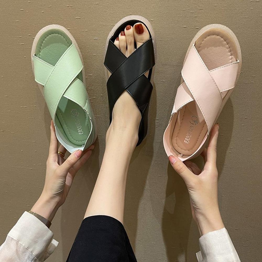 KEITH-WILL時尚鞋館-獨賣活力宣言涼鞋(涼鞋/涼跟鞋)(共3色) (綠色)