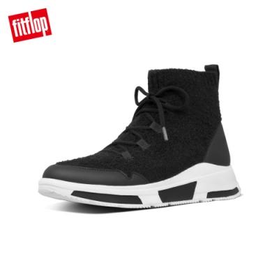 FitFlop COMFFKNIT SOCK BOOTS 襪套式短靴 黑色