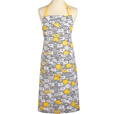 《KitchenCraft》平口單袋圍裙(羊咩咩)