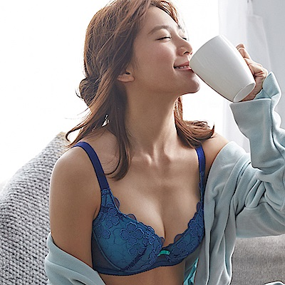 蕾黛絲-幸運草順型靠過來 D-F罩杯內衣(好運藍)