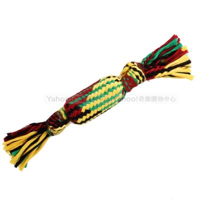 KiWi 啾啾聲糖果造型編織寵物玩具33cm (1入)