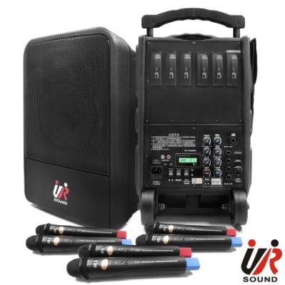 UR SOUND 75W六頻移動式無線擴音機 PA9260N