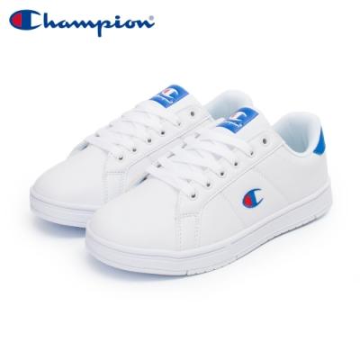 【Champion】CC Tennis 2 運動休閒鞋 女鞋-白/藍(WFUS-0010-06)