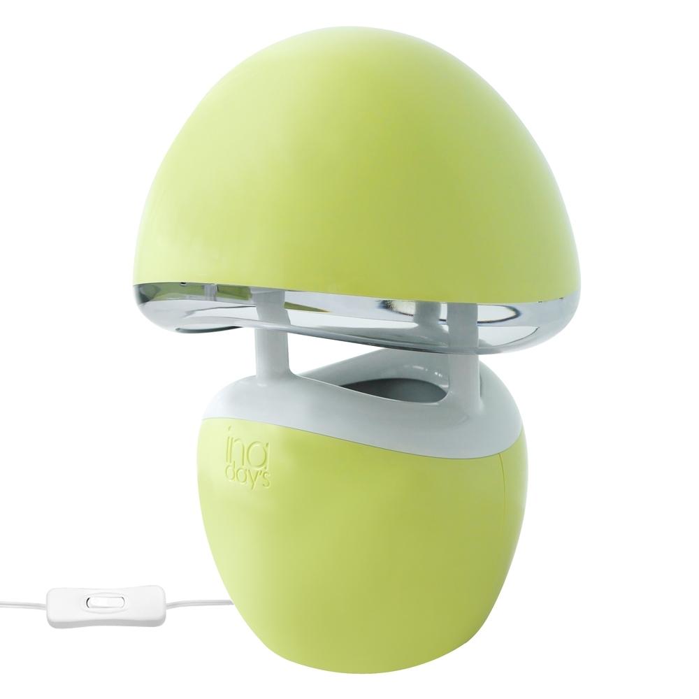 inaday's捕蚊達人光觸媒捕蚊燈(粉綠) GR-361