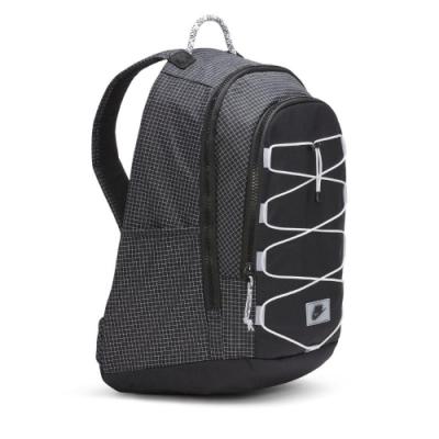 Nike 後背包 Hayward 2.0 Backpack 運動休閒 格紋 筆電夾層 雙肩背 黑 白 CV1412010