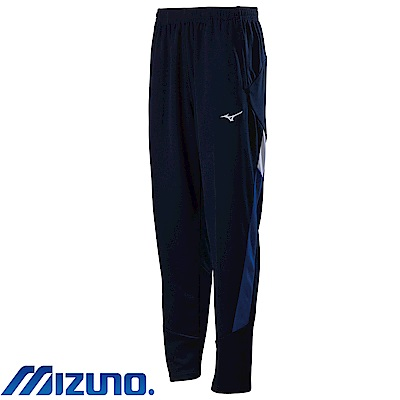 MIZUNO 美津濃 男針織運動套裝褲子 深丈青x法國藍 32TD803314