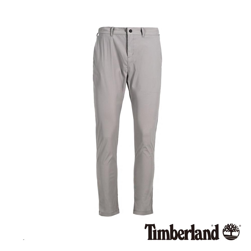 Timberland 女款卡其灰防潑水工裝褲|B3204
