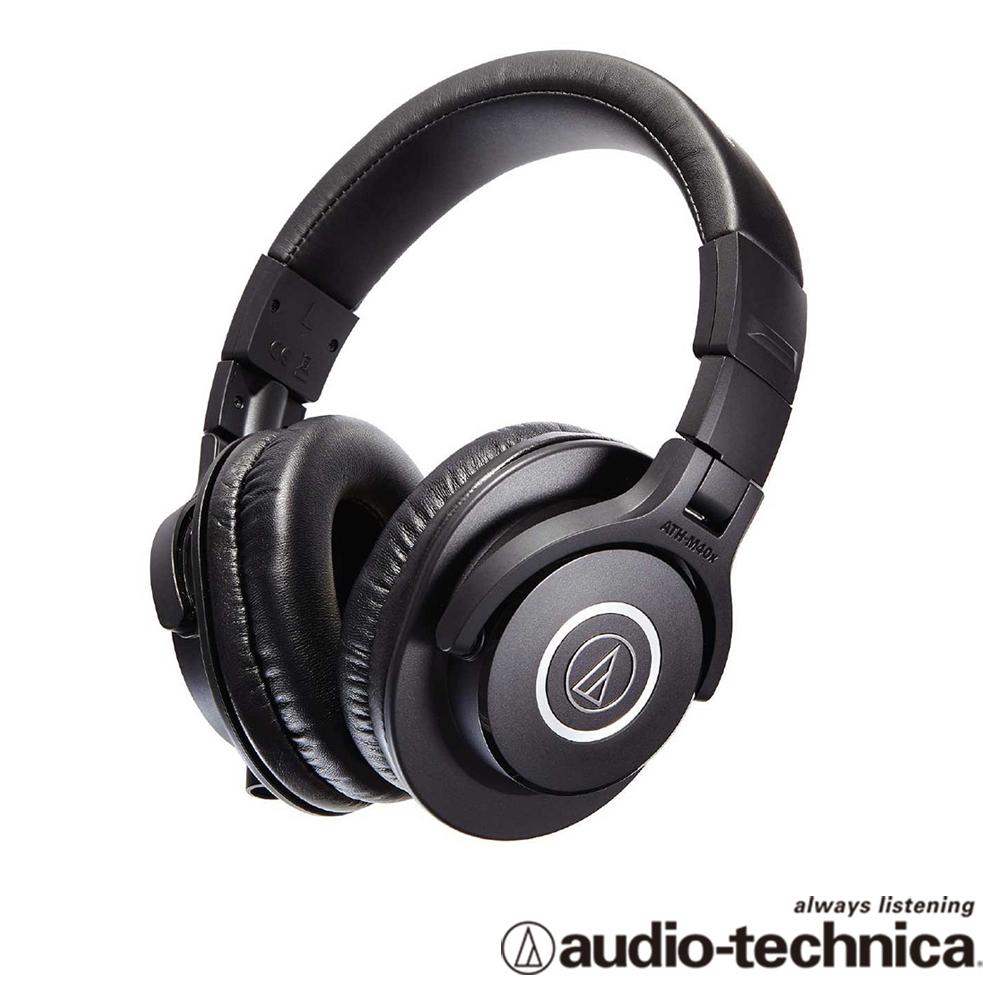 audio-technica 專業型監聽耳機 ATHM40x