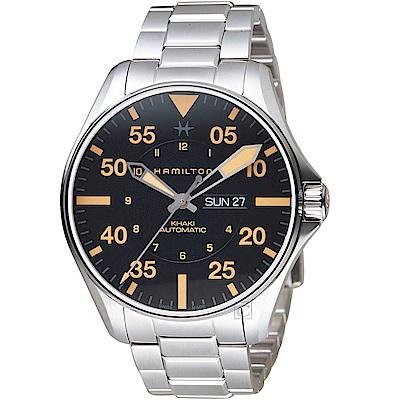 Hamilton漢米爾頓卡其航空系列Khaki Pilot機械錶-H64725131