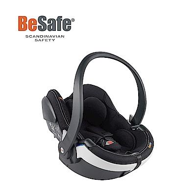 【Besafe】iZi Go Modular模組化兒童汽座提籃-銀石黑(白飾邊)