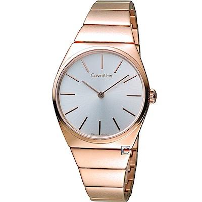 Calvin Klein Supreme系列極簡手鍊腕錶(K6C2X646)34mm