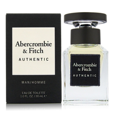 Abercrombie&Fitch Authentic A&F 真我男性淡香水30ml