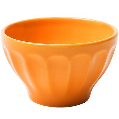 《EXCELSA》直紋餐碗(橘10cm)