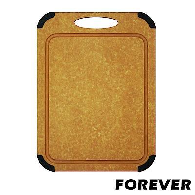 FOREVER 日本FOREVER松木木質砧板 / 防滑防霉集水溝槽設計-大