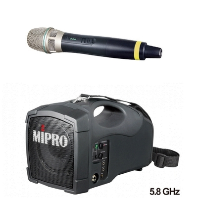 MIPRO MA-101G 超迷你肩掛式藍芽無線喊話器