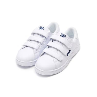 FILA CourtDeluxe 中性運動鞋-白 4-C118V-103
