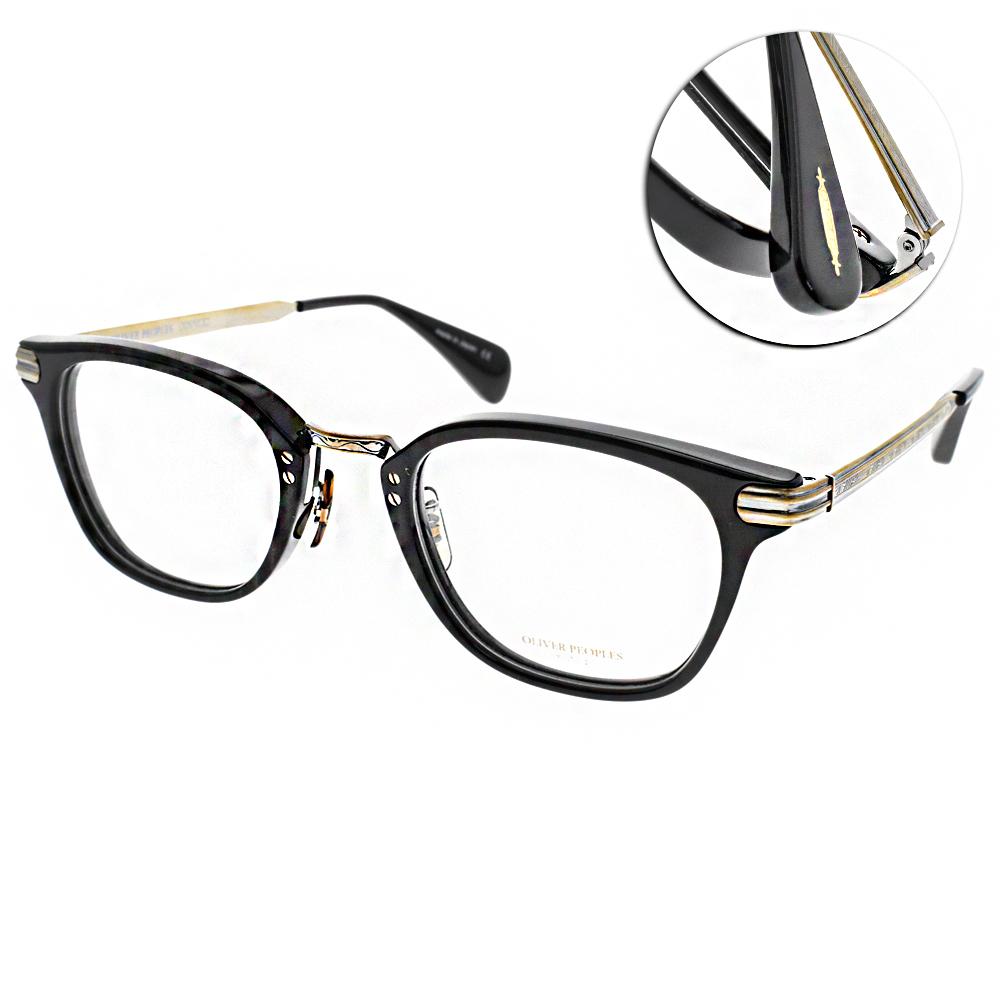 OLIVER PEOPLES 眼鏡 懷舊經典/黑-銅 #CHESSMAN 1005 @ Y!購物